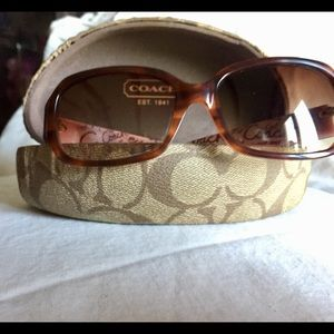 Coach sunglasses. Pre-owned. Well cared for.